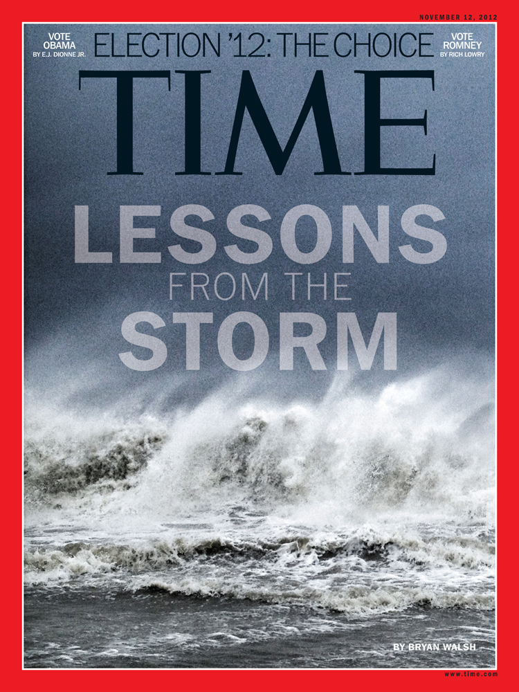 TIME Magazine Cover shot by Ben Lowy with Instagram.